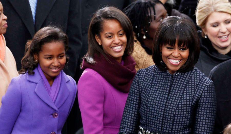 Barack Obama a prêté serment pour son second mandat ce lundi à Washington, en présence de sa famille, mais aussi de nombreuses personnalités politiques et artistiques. Voici les plus belles images de cette journée symbolique.