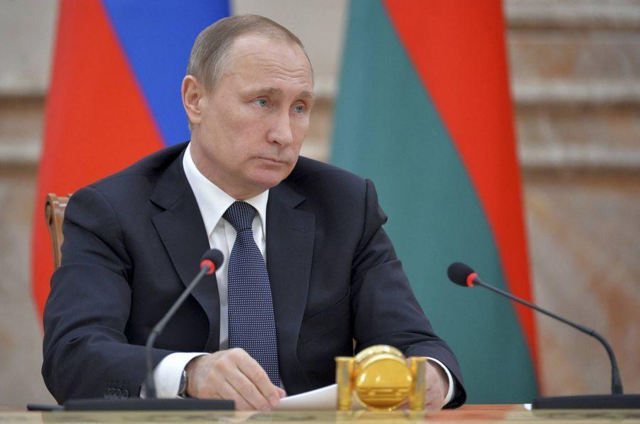 L'entourage du président russe Vladimir Poutine