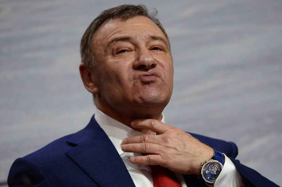 L'homme d'affaires russe Arkady Rotenberg