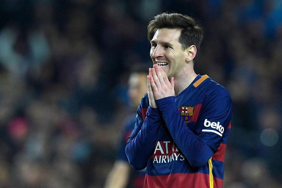Le footballeur argentin Lionel Messi