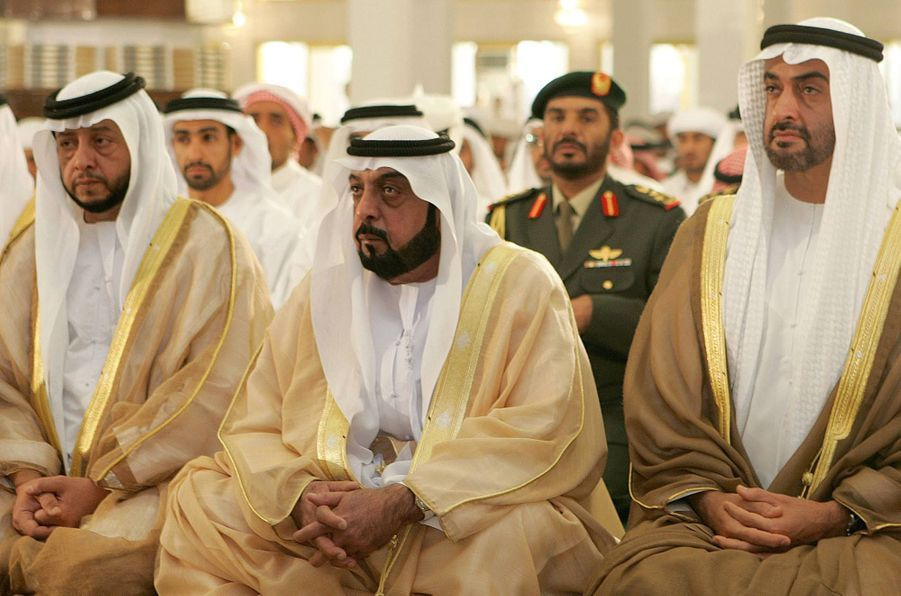 Le président des Emirats arabes unis Khalifa bin Zayed al-Nahayan