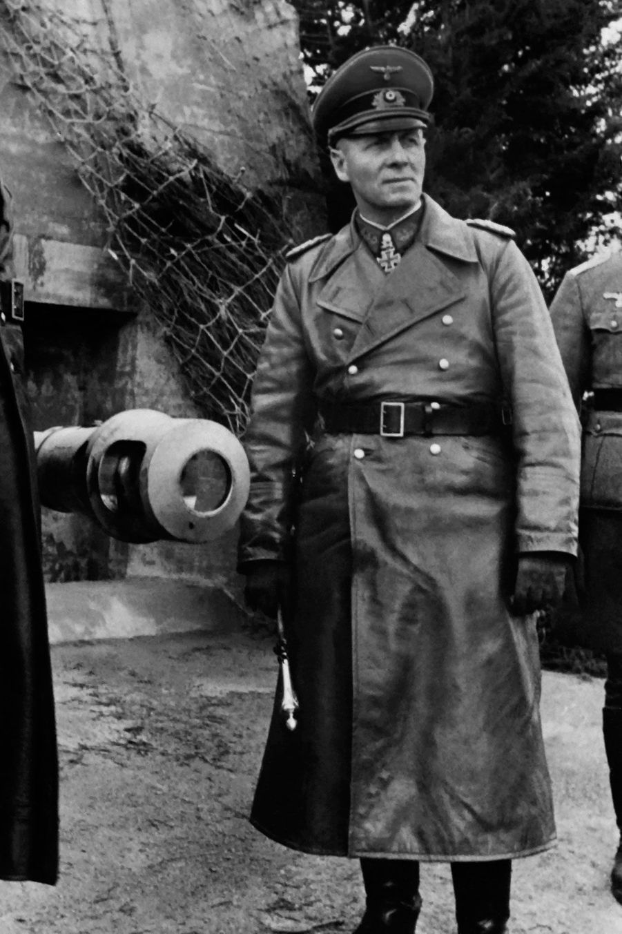 Cette photo du maréchalErwin Rommel a été prise entre 1943 et 1944.
