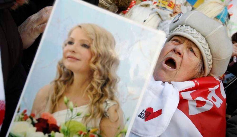 La jolie blonde de l'Ukraine