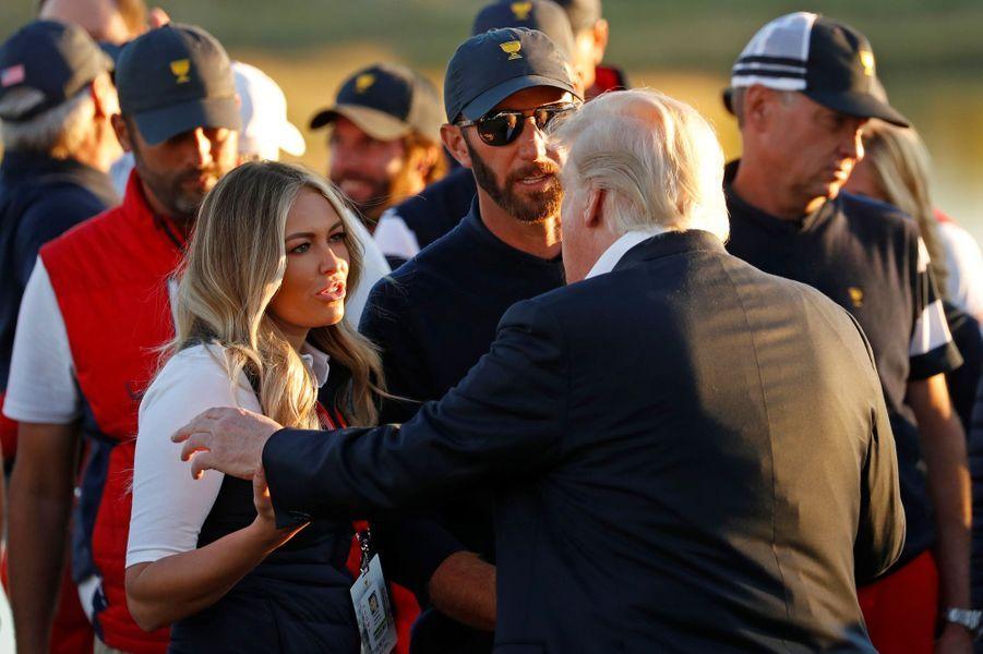 Donald Trump à la President's Cup, dans le New Jersey, le 1er octobre 2017.