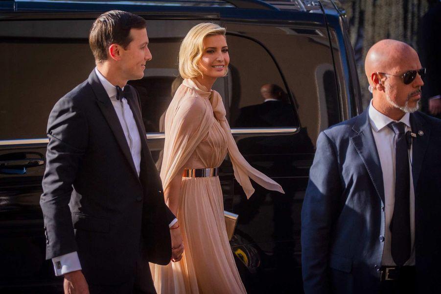 Jared Kushner et Ivanka Trump à Rome pour le mariage Misha Nonoo et Michael Hess, le 20 septembre 2019.