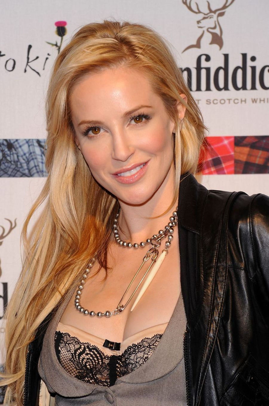 Louise Linton à l'événement «Dressed To Kilt» à New York, le 5 avril 2010.