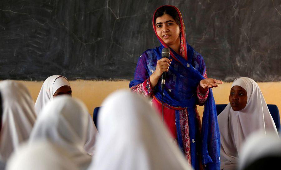 Malala au camp de Dadaab au Kenya
