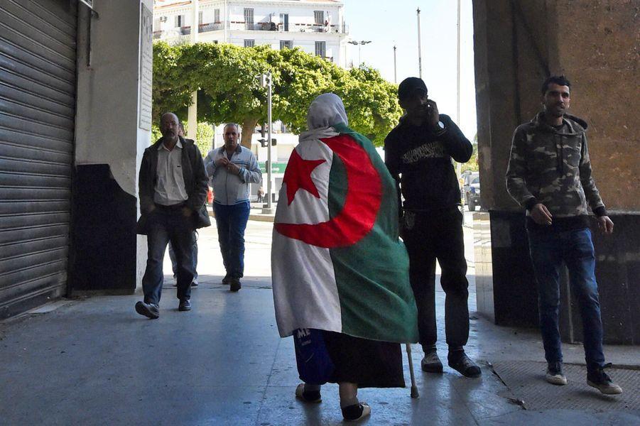 Manifestation à Alger, le 15 mars 2019.