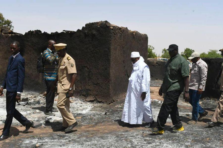 Le massacre a eu lieu samedi, à Ogossagou.