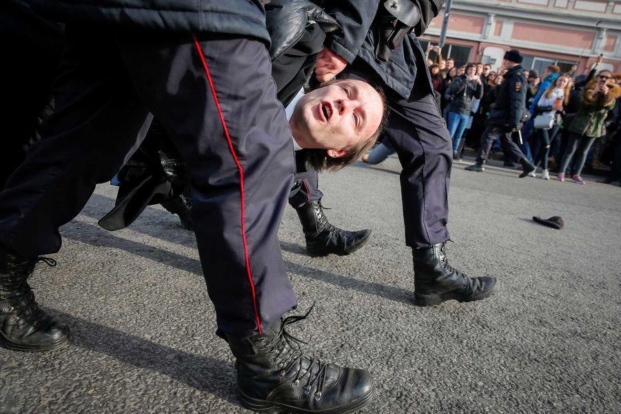 358 manifestants ont été interpellés à Moscou.