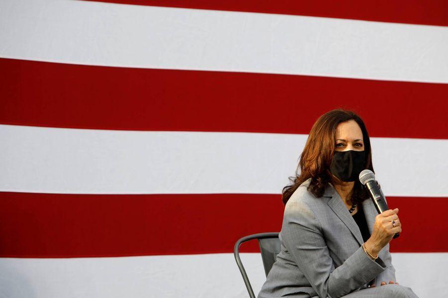 Kamala Harris à Raleigh, en Caroline du Nord, le 28 septembre 2020.