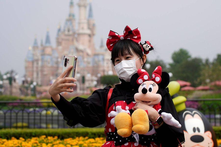 Le parc Disney de Shanghai a rouvert ce lundi 11 mai 2020.