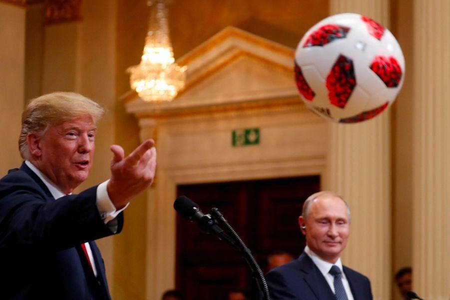 Donald Trumpà Helsinki, le 16 juillet 2018.