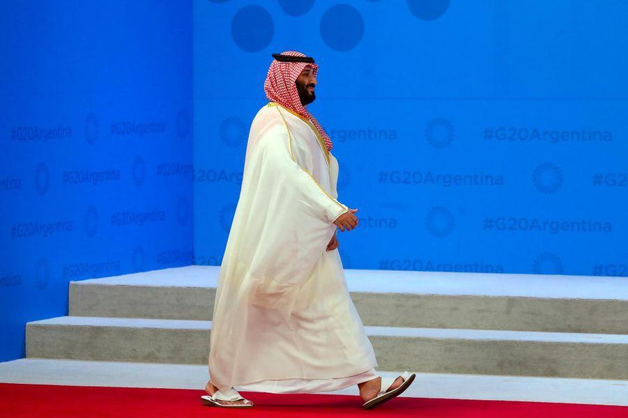 Mohammed ben Salmane au G20, à Buenos Aires, le 30 novembre 2018.