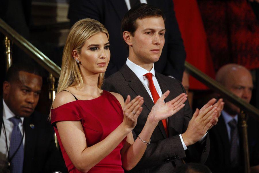 Ivanka Trump et son épouxJared Kushner.