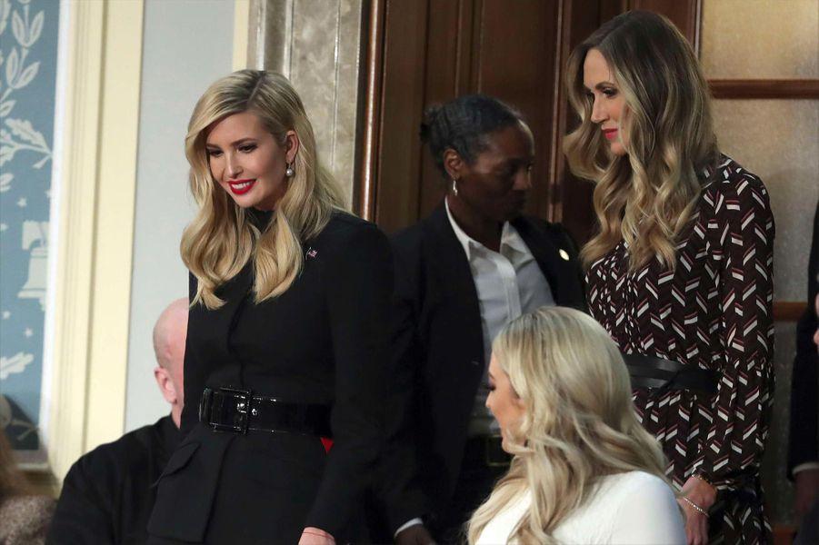 Ivanka, Tiffany et Lara Trumpau Capitole pour le discours sur l'état de l'union, le 5 février 2019.