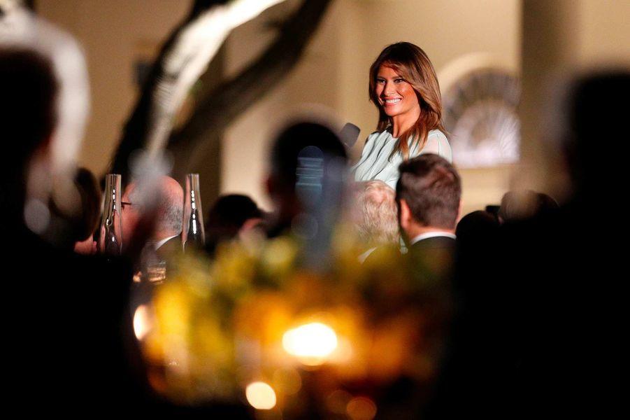 Melania Trump à la Maison-Blanche, le 20 septembre 2019.