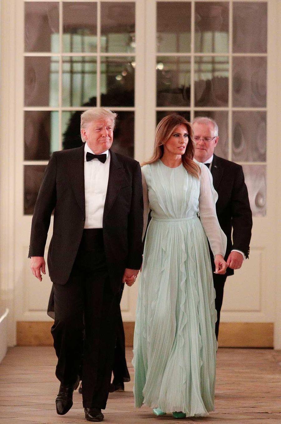 Donald etMelania Trump à la Maison-Blanche, le 20 septembre 2019.