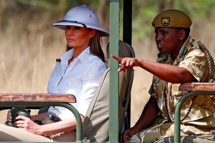 Melania Trump à Nairobi, au Kenya, le 5 octobre 2018.