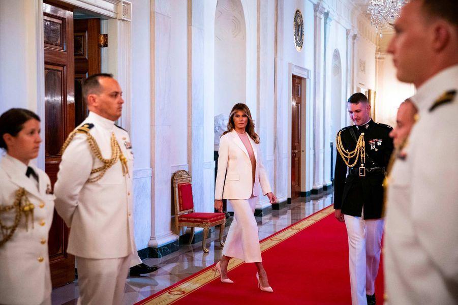 Melania Trump à la Maison-Blanche, le 16 septembre 2019.