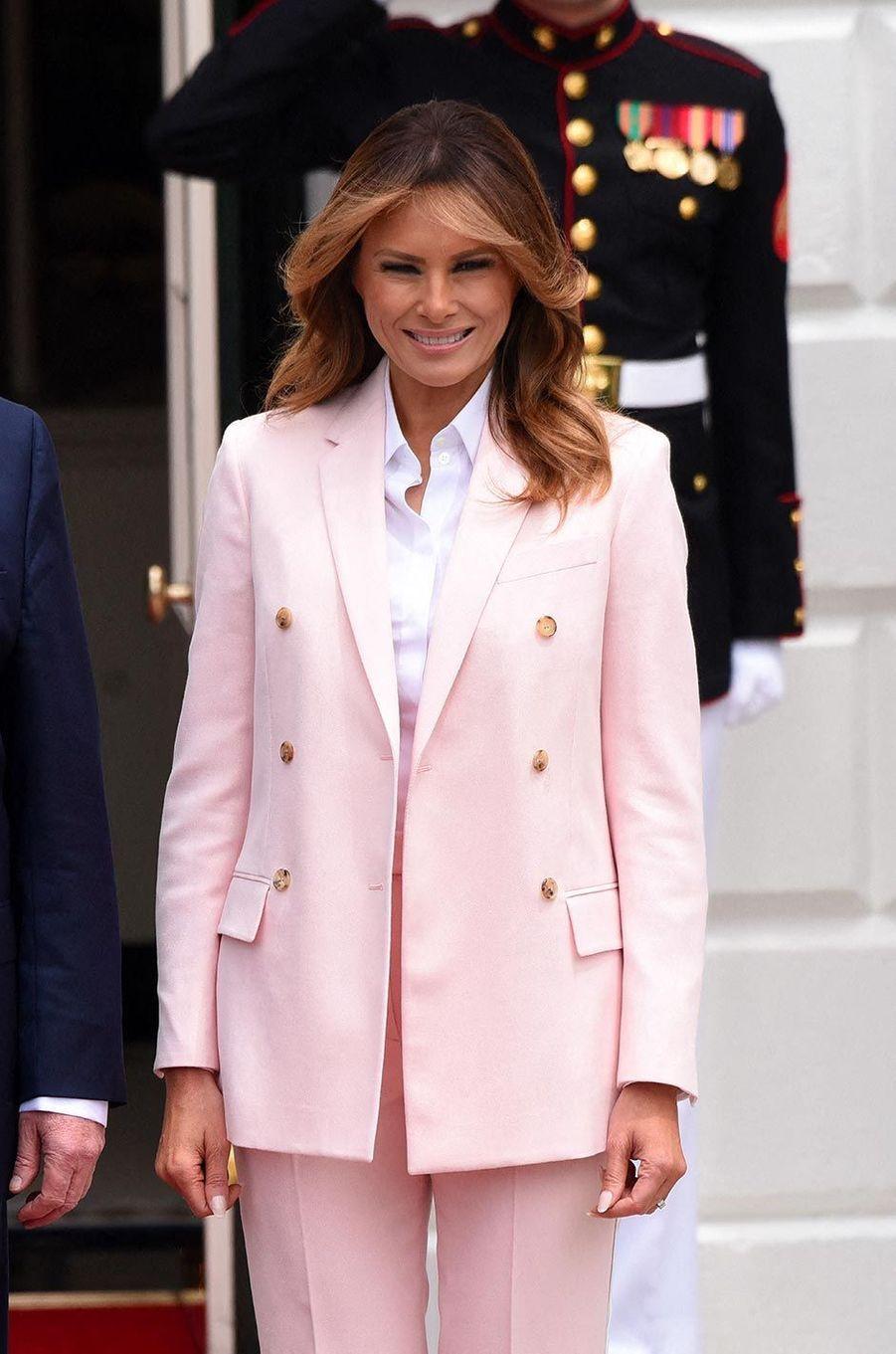 Melania Trump à la Maison-Blanche, le 12 juin 2019.