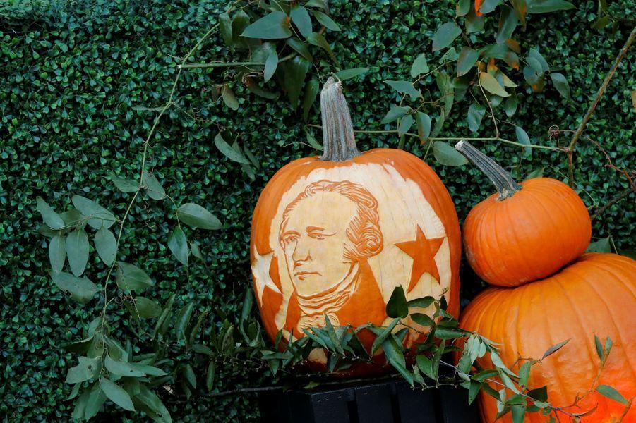 A la Maison Blanche pour Halloween, le 30 octobre 2017.