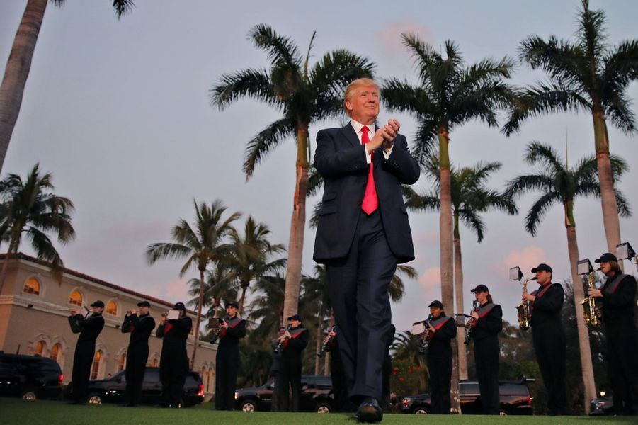 Donald Trump à Palm Beach, en Floride, le 5 février 2017.