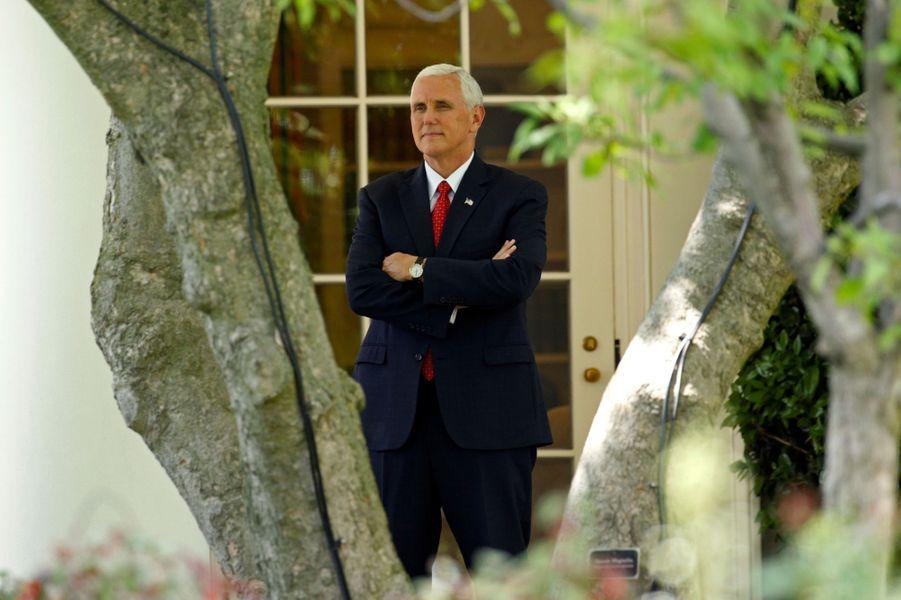 Mike Pence à la Maison Blanche, le 19 mai 2017.