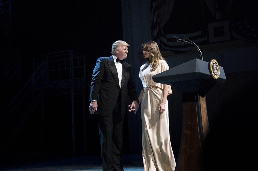 Donald et Melania Trump au gala annuel caritatif du théâtre Ford, le 4 juin 2017.A voir : Donald et Melania Trump en sortie officielle à Washington