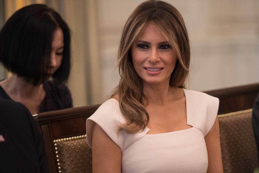 Melania Trumpà la Maison Blanche, le 29 juin 2017.