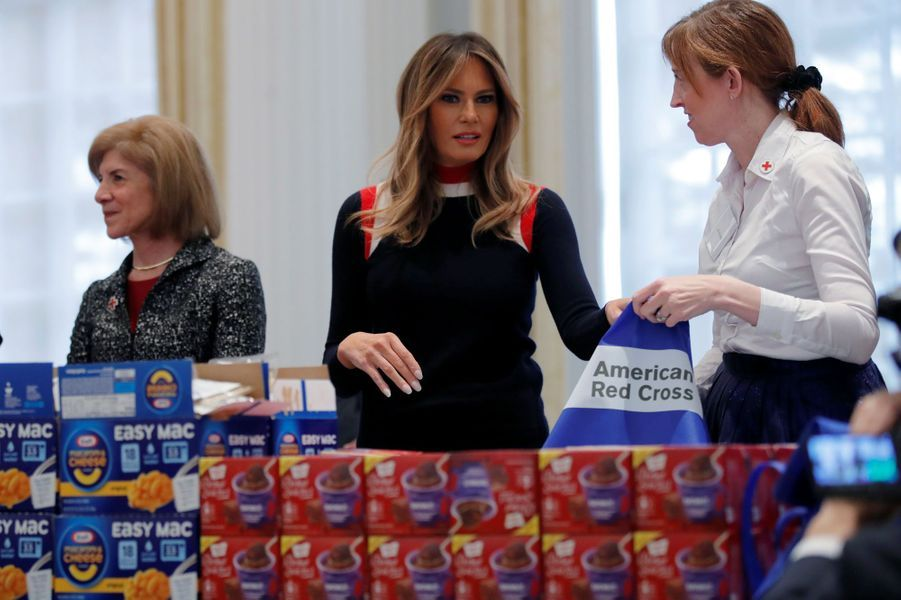 Melania Trump à Washington, le 27 novembre 2018.