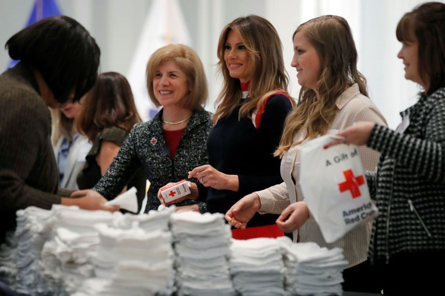 Melania Trump à Washington, le 27 novembre 2018.