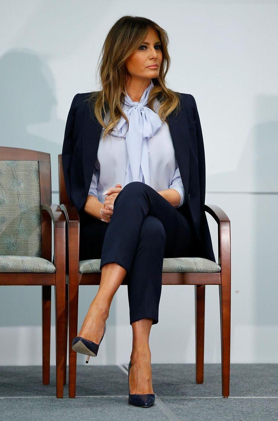 Melania Trump à Rockville, le 20 août 2018.