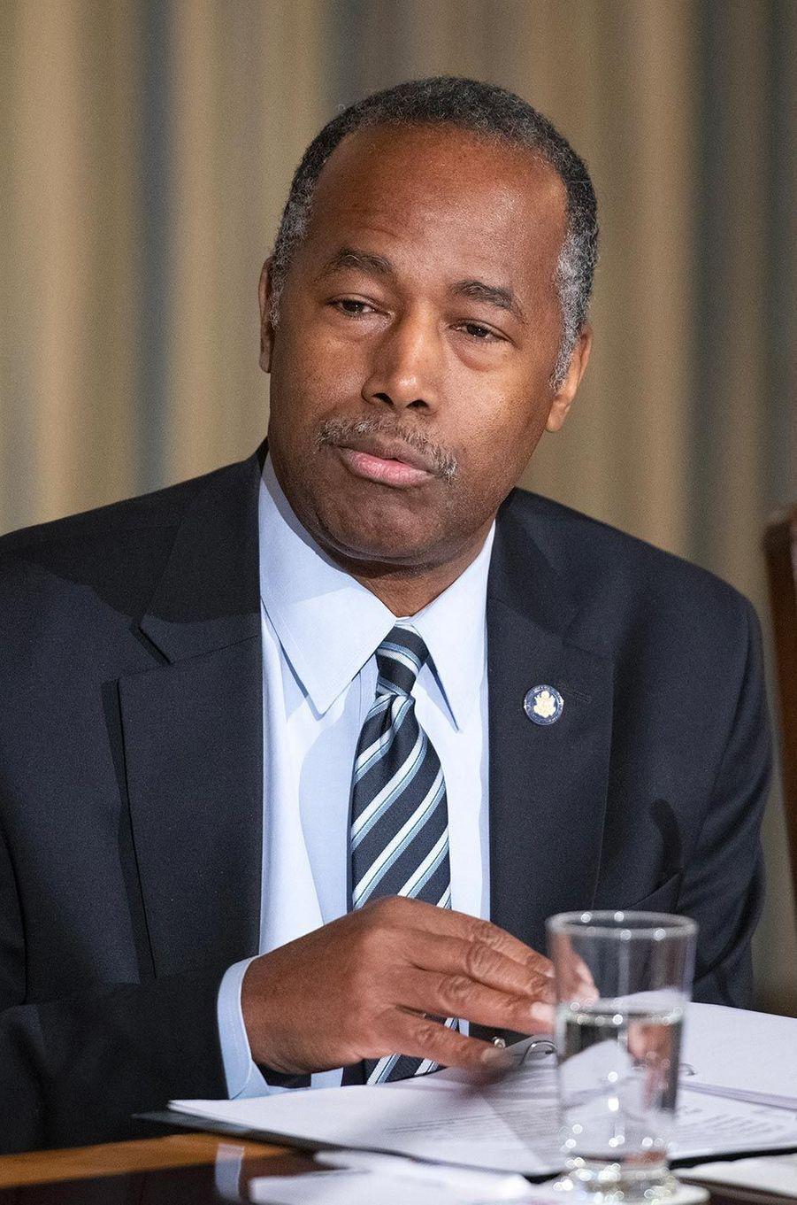 Ben Carson à la Maison-Blanche, le 18 mars 2019.