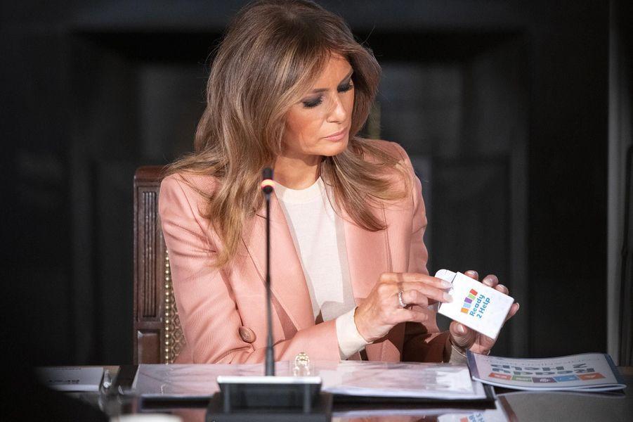 Melania Trump à la Maison-Blanche, le 18 mars 2019.
