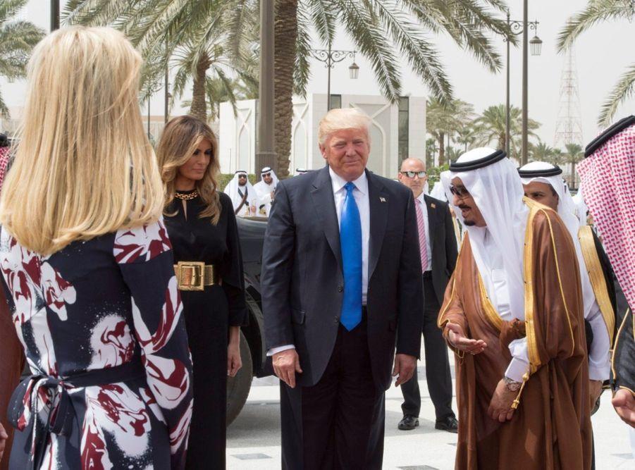 Ivanka Et Melania Trump sans voile en Arabie Saoudite