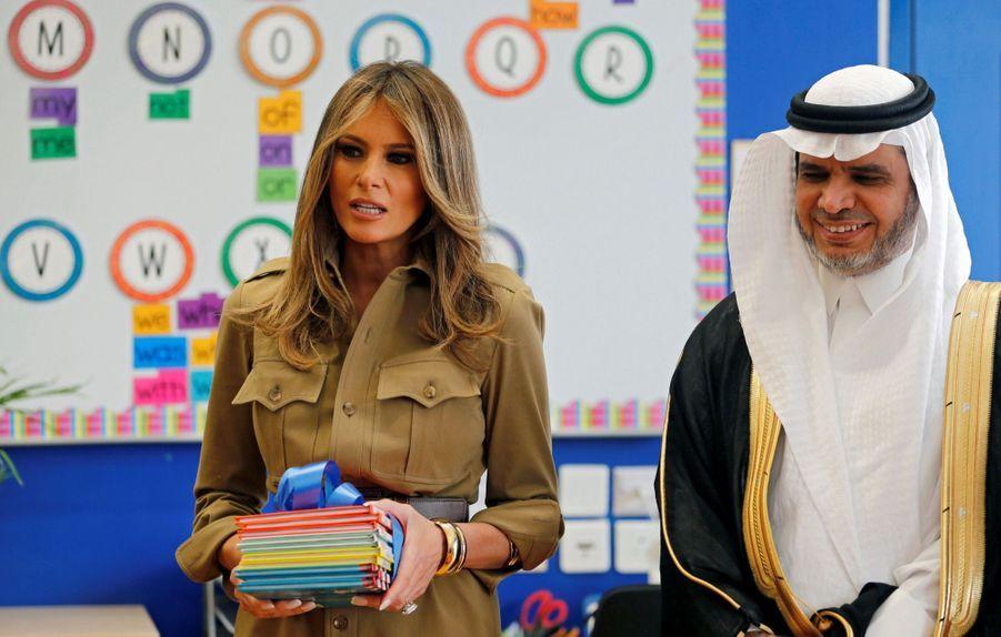 Melania Trump Sans Voile En Arabie Saoudite 21