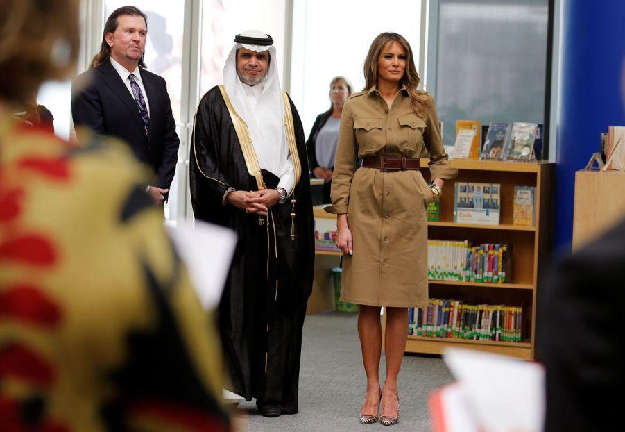 Melania Trump Sans Voile En Arabie Saoudite 22