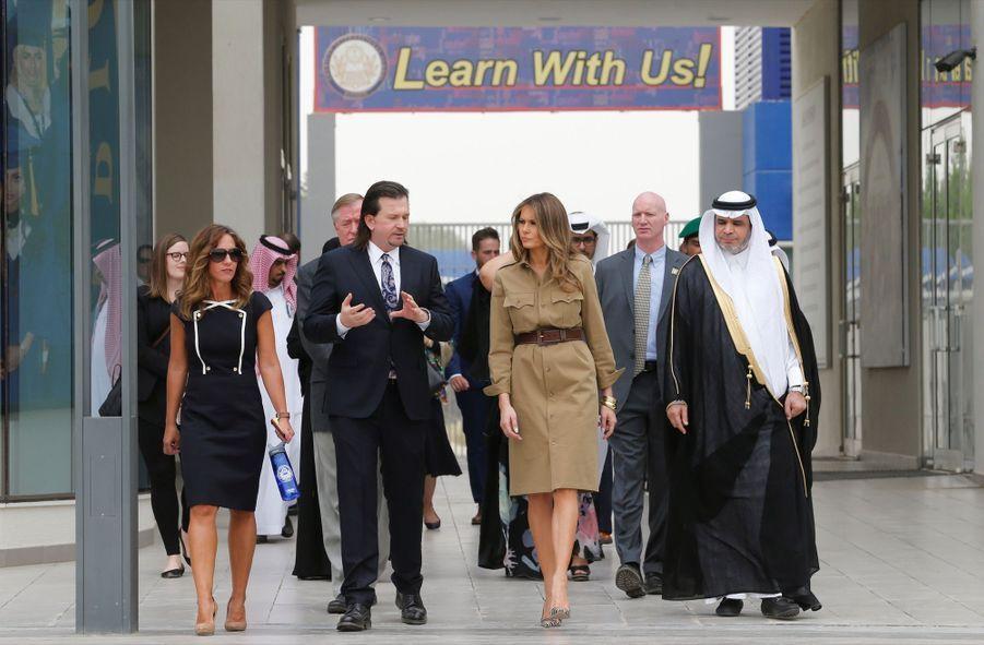 Melania Trump Sans Voile En Arabie Saoudite 23