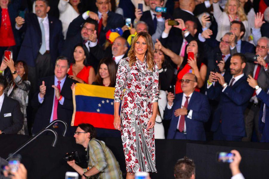 Melania Trump à Miami, le 18 février 2019.
