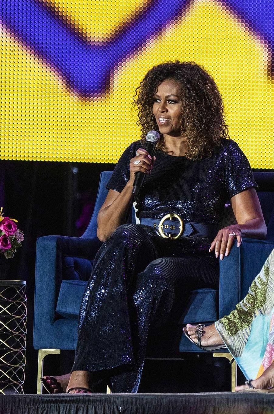 Michelle Obama à la Nouvelle-Orléans, le 6 juillet 2019.