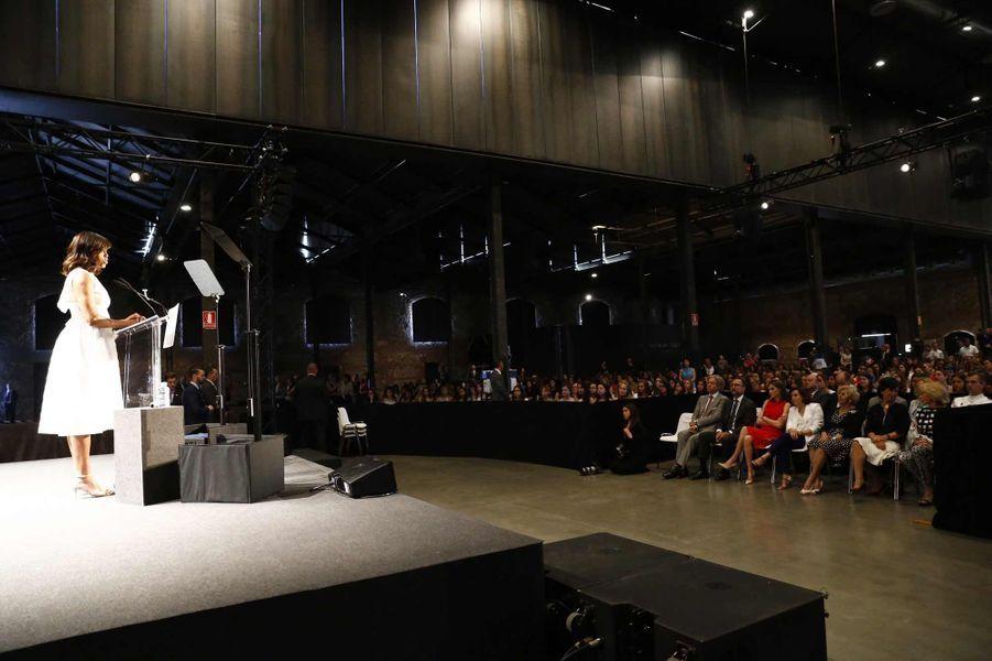 Michelle Obama et Letizia, côte à côte pour l'éducation des filles