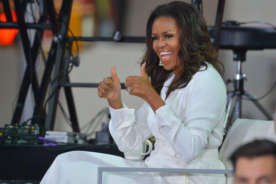 Michelle Obama à New York, le 11 octobre 2018.