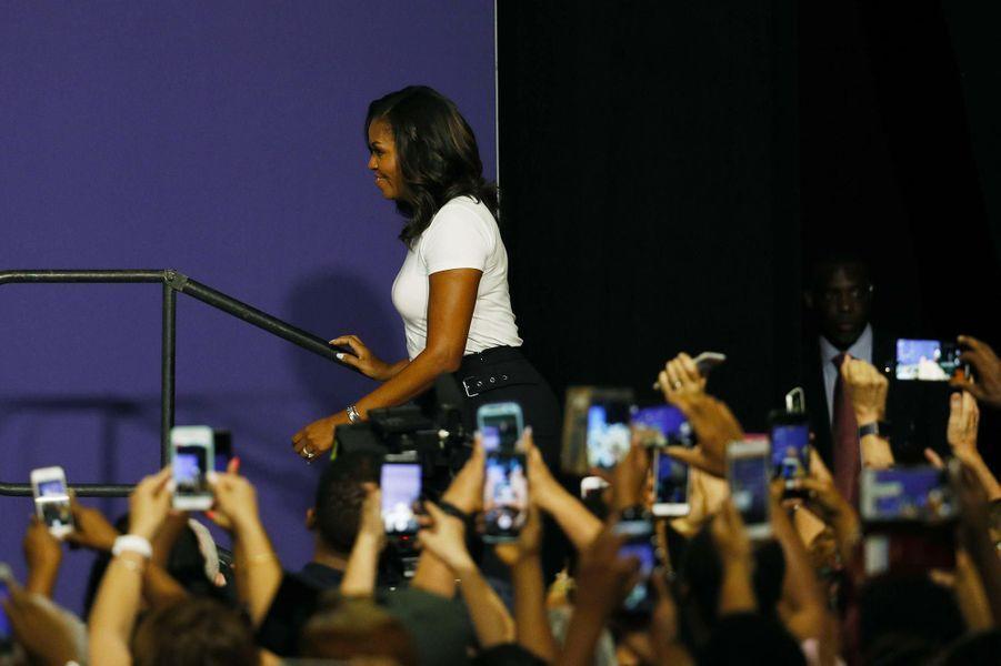 Michelle Obama à Las Vegas, le 23 septembre 2018.
