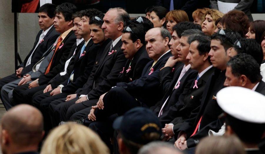 Les «33» s'apprêtent à être décorés par le président chilien.