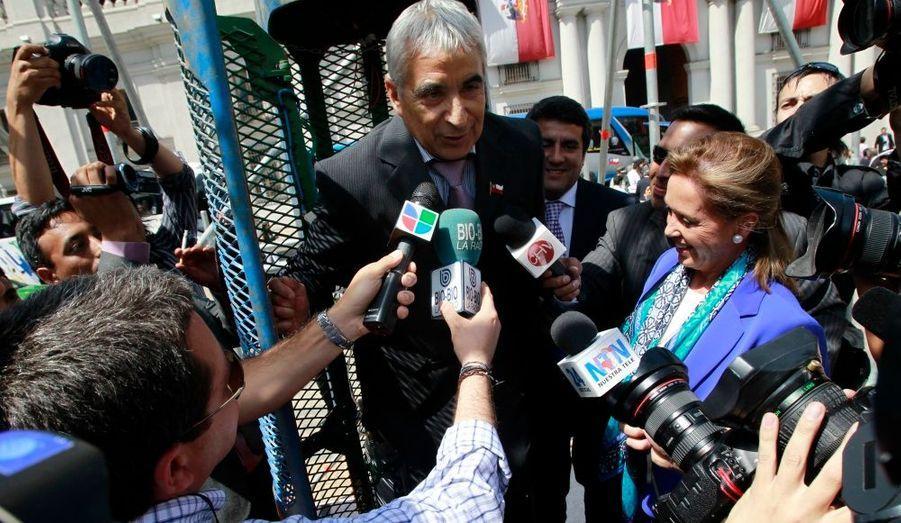 Omar Reygadas, interviewé dans la nacelle «Phoenix».