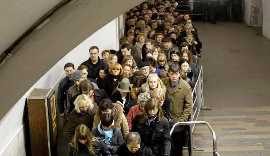 L'évacuation du métro