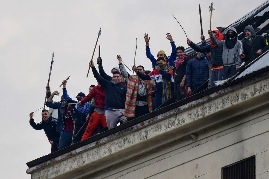 Buenos Aires en Argentine le 24 avril 2020.
