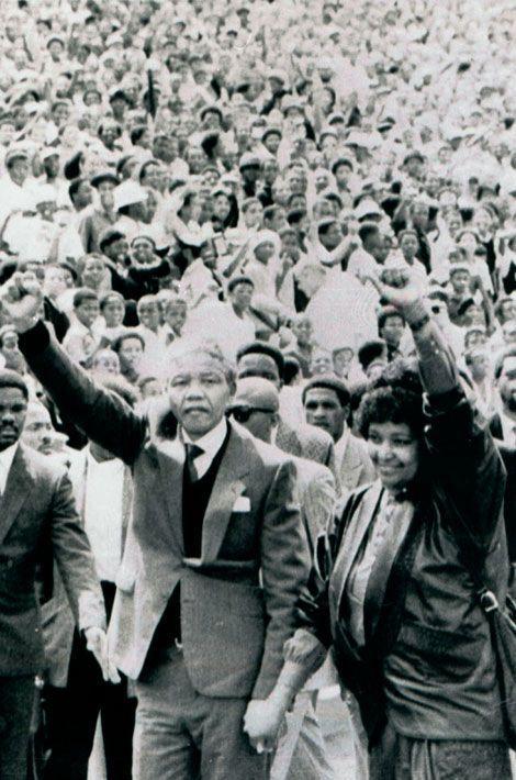 Nelson Mandela, un homme libre