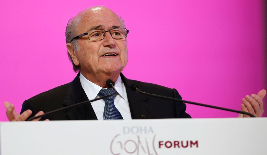 Le président de la FIFA, Seth Blatter